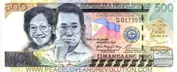 New 500 peso bill???